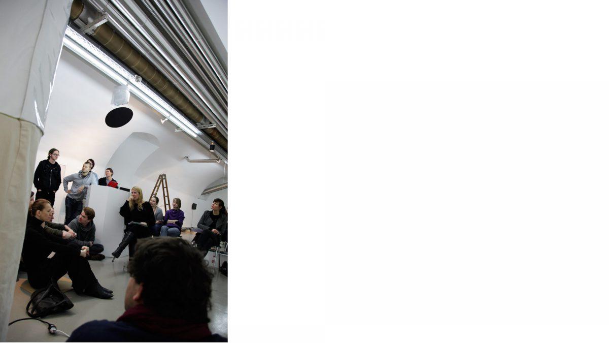 Zurück in die Zukunft, Gruppengespräch in Linz, 2013