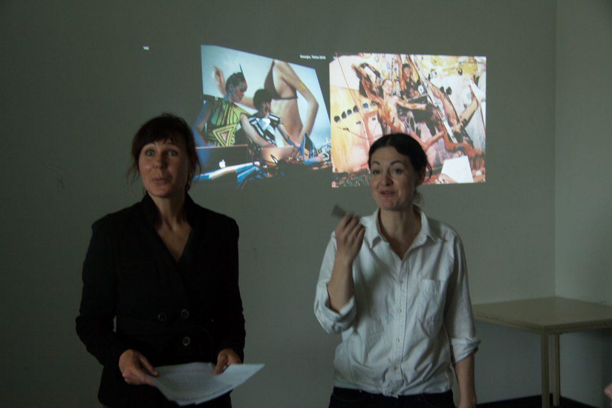 Amazonen, Einführung Melissa Logan/Mathilde ter Heijne, 2014