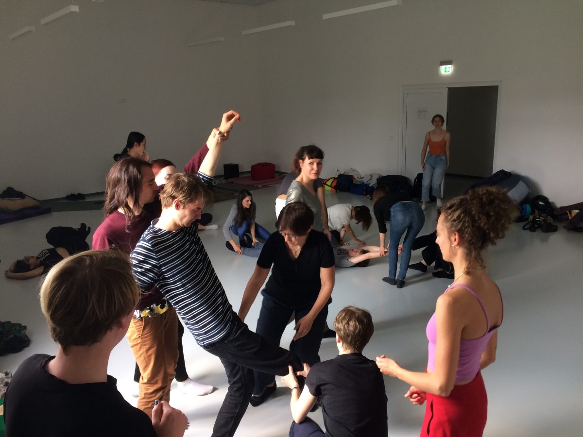 Workshop by Fanni Sosa and Neville Acosta