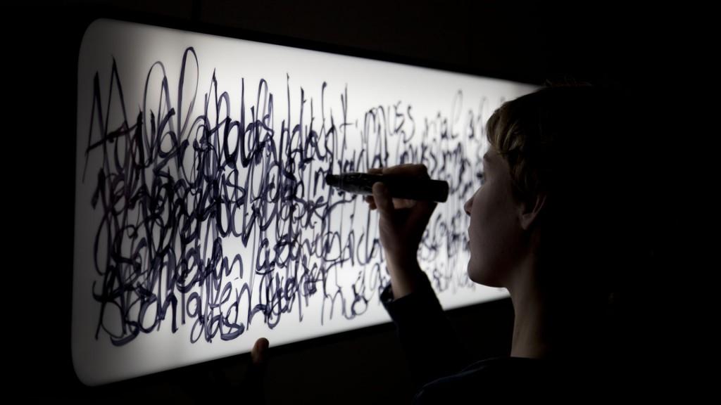 Auch das Licht muss mal schlafen gehen, Performance, 2011