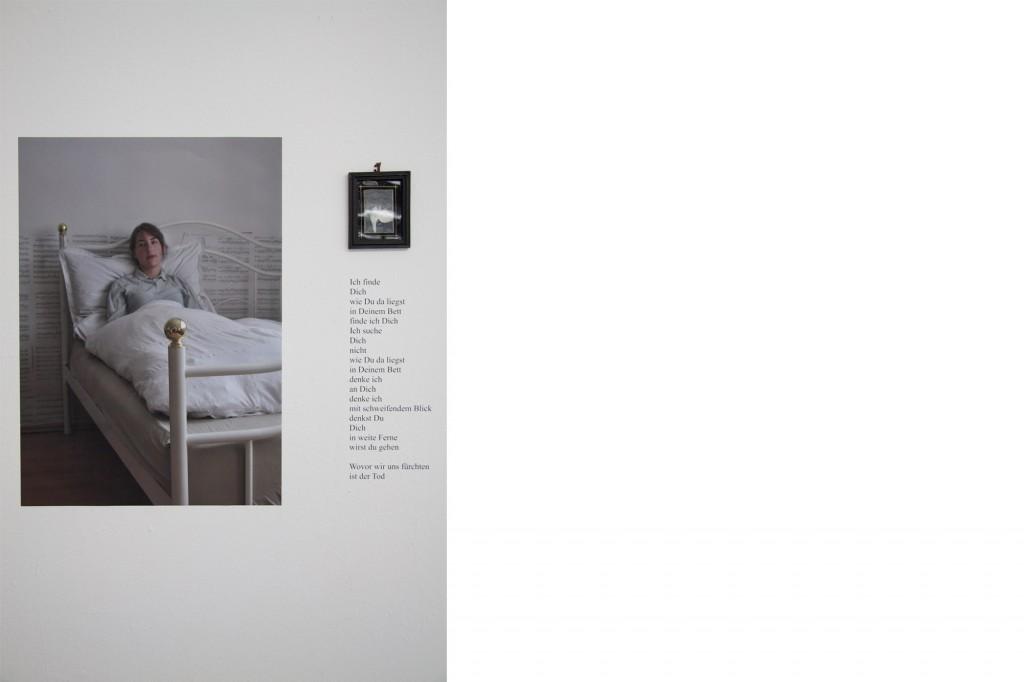 Jana Wieczorek, Tod denken, Installation, 2012