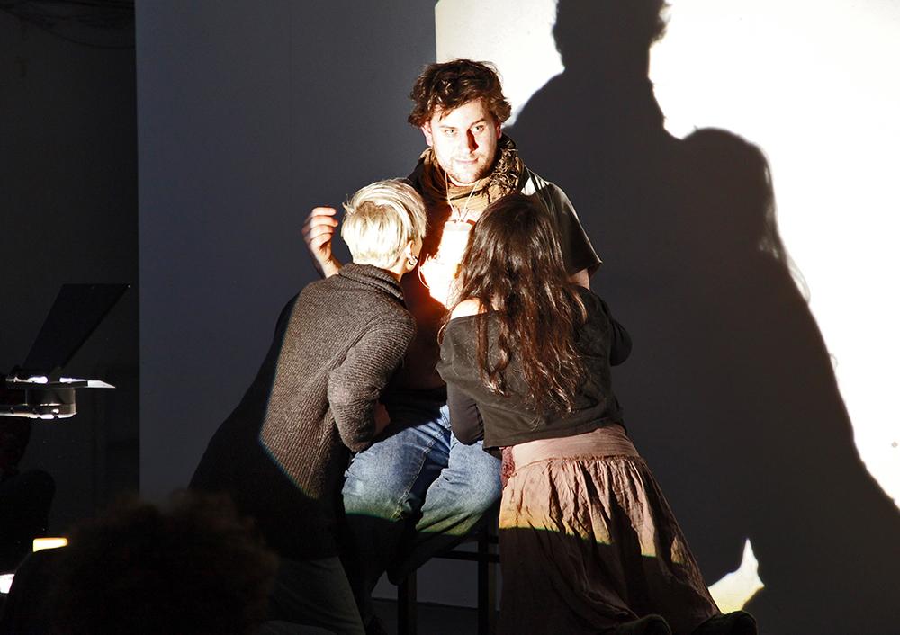 OPEN PRACTICE, Still Performance von Christoph Pfannkuch, 2015