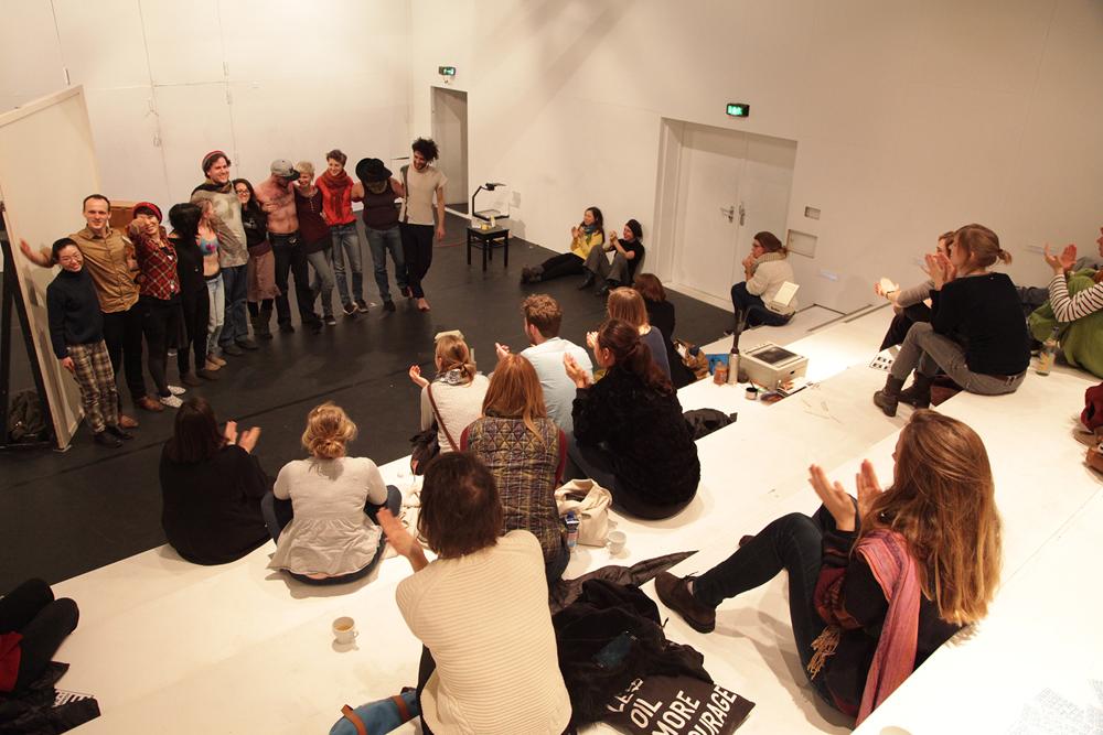 OPEN PRACTICE, Theater Freiburg, 2015